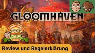 Gloomhaven - Brettspiel - Review - spoilerfrei