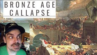 What was life like after the Bronze age collapse? REACTION