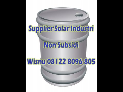 MURAH Supplier Solar Industri Lampung Sumatra