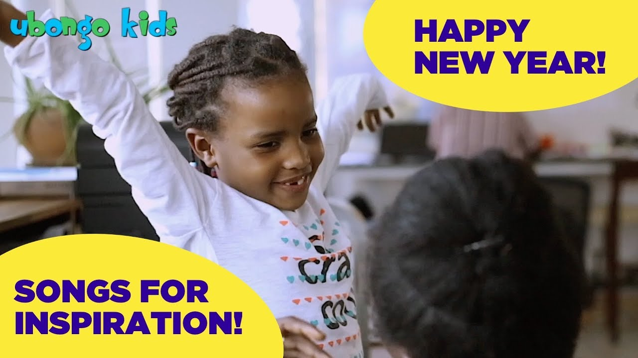 Happy New Year! - Inspirational songs from Ubongo Kids African cartoons!