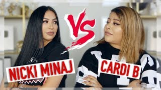 CARDI B VS NICKI MINAJ PLAYLIST || BATTLE OF THE ARTISTS