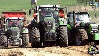 PS Power auf der Baustelle / Fendt , Steyr , Deutz, CAT, Traktoren und Baumaschinen / Bau der A14