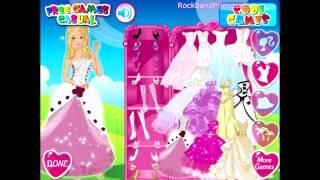 Barbie Wedding Bride - Dress Up Game