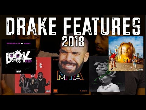 TOP 5 DRAKE FEATURES OF 2018! Mp3