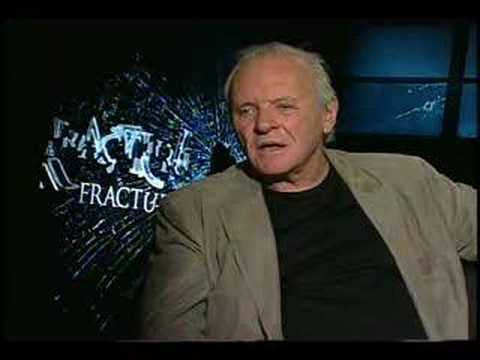 Anthony Hopkins interview for Fracture