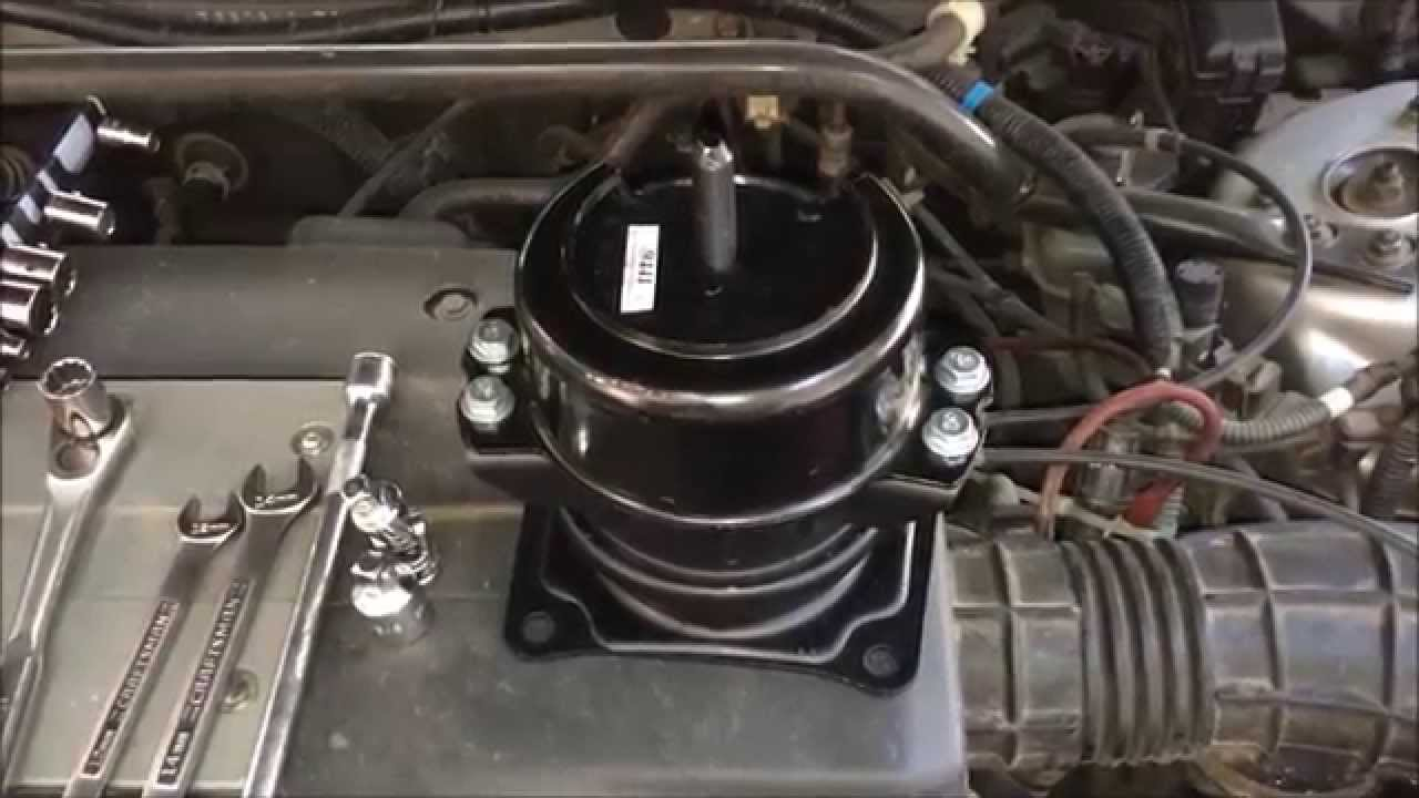1999 2003 Acura 3 2 Tl Motor Mount Replacement Youtube