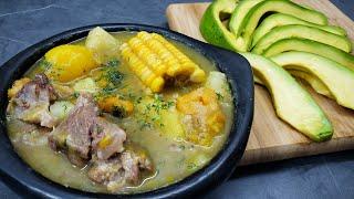 delicioso SANCOCHO colombiano al estilo de Rosita Cocina -  como hacer sancocho - receta de sancocho