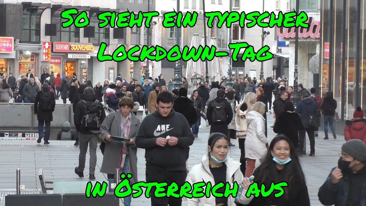 So sieht ein typischer Lockdown-Tag in Österreich aus