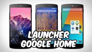 Instalar Nuevo Launcher Android 4.4 KitKat [Google Home] para Android