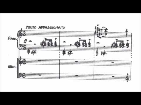 Bernard Herrmann - Concerto macabre for piano and orchestra (CHRISTMAS AND NEW YEAR TRIBUTE)