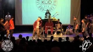 SoulBotics Krew vs Funny Bones Crew USA Popping Semi #2016KODWorldCup #SXSTV