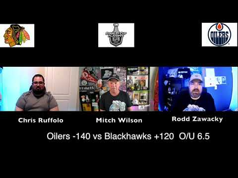 Chicago Blackhawks vs Edmonton Oilers 8/3/20 NHL Pick and Prediction Stanley Cup Playoffs