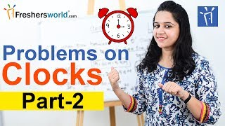 Aptitude Made Easy - Problems on Clocks -2, Basics and Methods, Angle between hands, Tricks