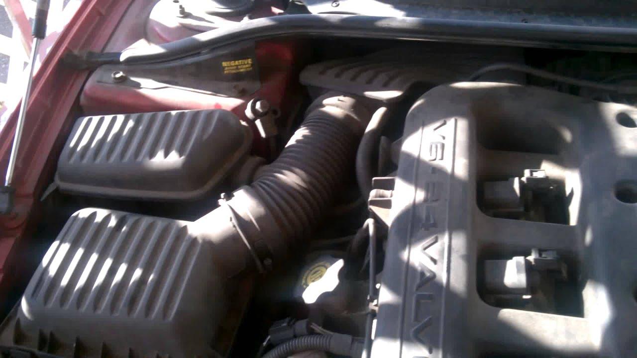 2001 Chrysler 300m Engine Rattle Noise Knock