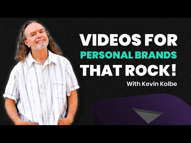 How to make videos for personal brands that rock