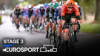 BinckBank Tour 2020 - Stage 3 Highlights | Cycling | Eurosport