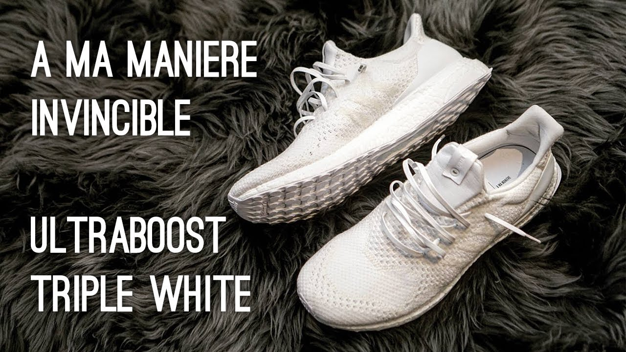 8cd5feba9 A Ma Maniére x Invincible Ultraboost Overview - YouTube