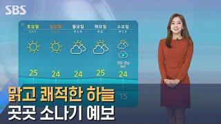 [날씨] '서울 24도' 맑고 쾌적한 하…