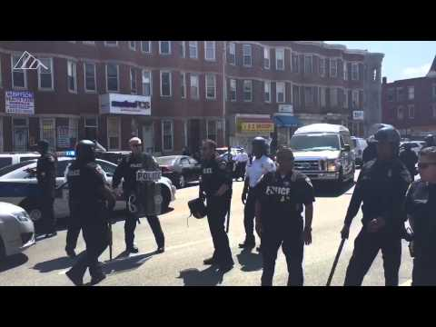 BREAKING: Shots fired in Baltimore near CVS, police mobilizing