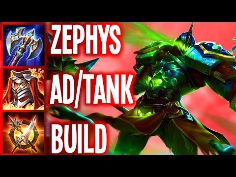 AOV: ZEPHYS BRUTAL OFFTANK BUILD (CONQUEROR) | Arena of Valor Zephys Builds