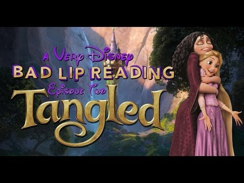 Thumbnail: A Very Disney Bad Lip Reading: TANGLED