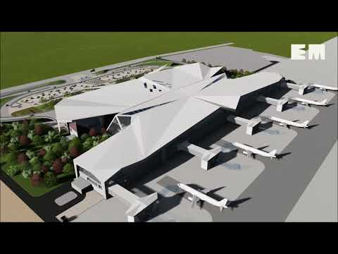 The upcoming terminal at Guwahati airport in Assam