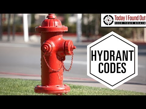 Fire Hydrant Colors Actually Mean Something