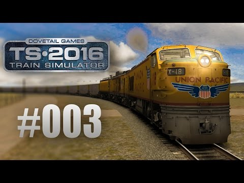 Train Simulator 2016: Union Pacific Railroad mit der Gasturbine #003- Angekommen in Granite!