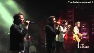 "One Direction ""Night Changes"" live in Coca Cola FM Estudio Mexico"