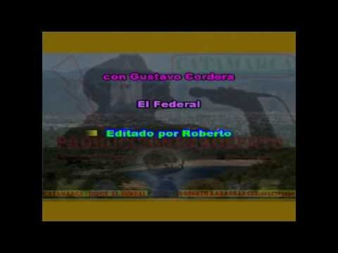 La Mona Jimenez   El Federal ( karaoke ) (PRODUCCIONES ROBERTO)