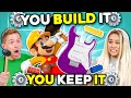 What Can You Build In 30 Minutes? | You Build It, You Keep It