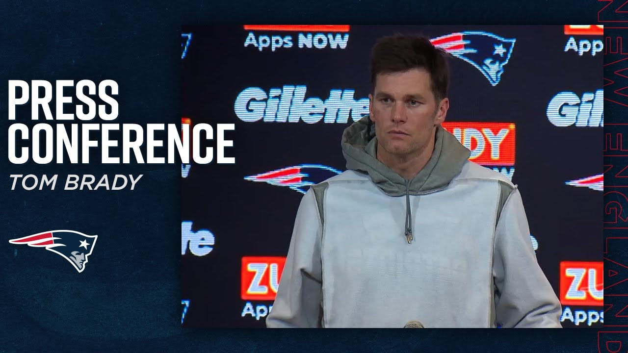 "Tom Brady on looking ahead to playoffs: ""We've got to play better next week"" 