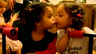Taliana And Maya Kiss