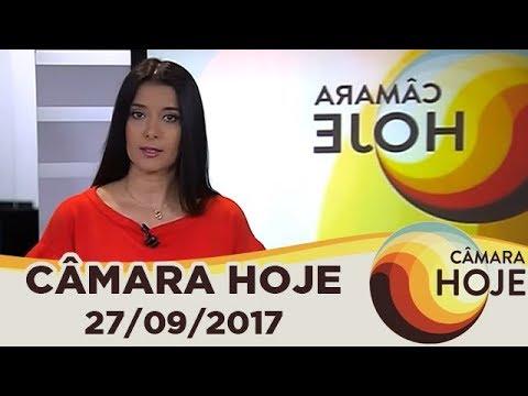 Câmara Hoje - Segunda denúncia contra Temer é lida em Plenário - 27/09/2017