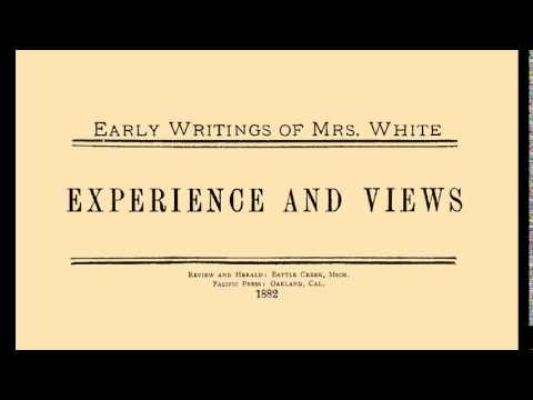 01_My First Vision - Early Writings (1882) Ellen G  White