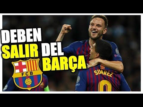 11 jugadores que el BARÇA debe VENDER SÍ o SÍ a final de esta temporada