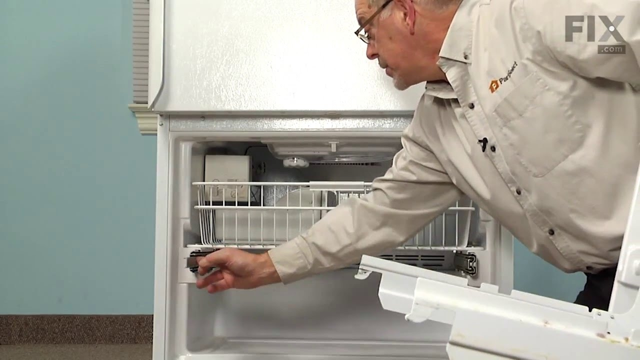 Amana Refrigerator Repair How To Replace The Defrost