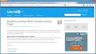 видео Настройка плагина WP Super Cache и оптимизация WordPress