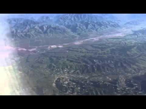 United Airlines CRJ200 Over California Coast #Oscars2016