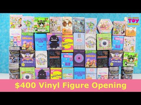 Giant Kidrobot Tokidoki Vinyl Figure Unboxing Review Blind Bag Palooza | PSToyReviews
