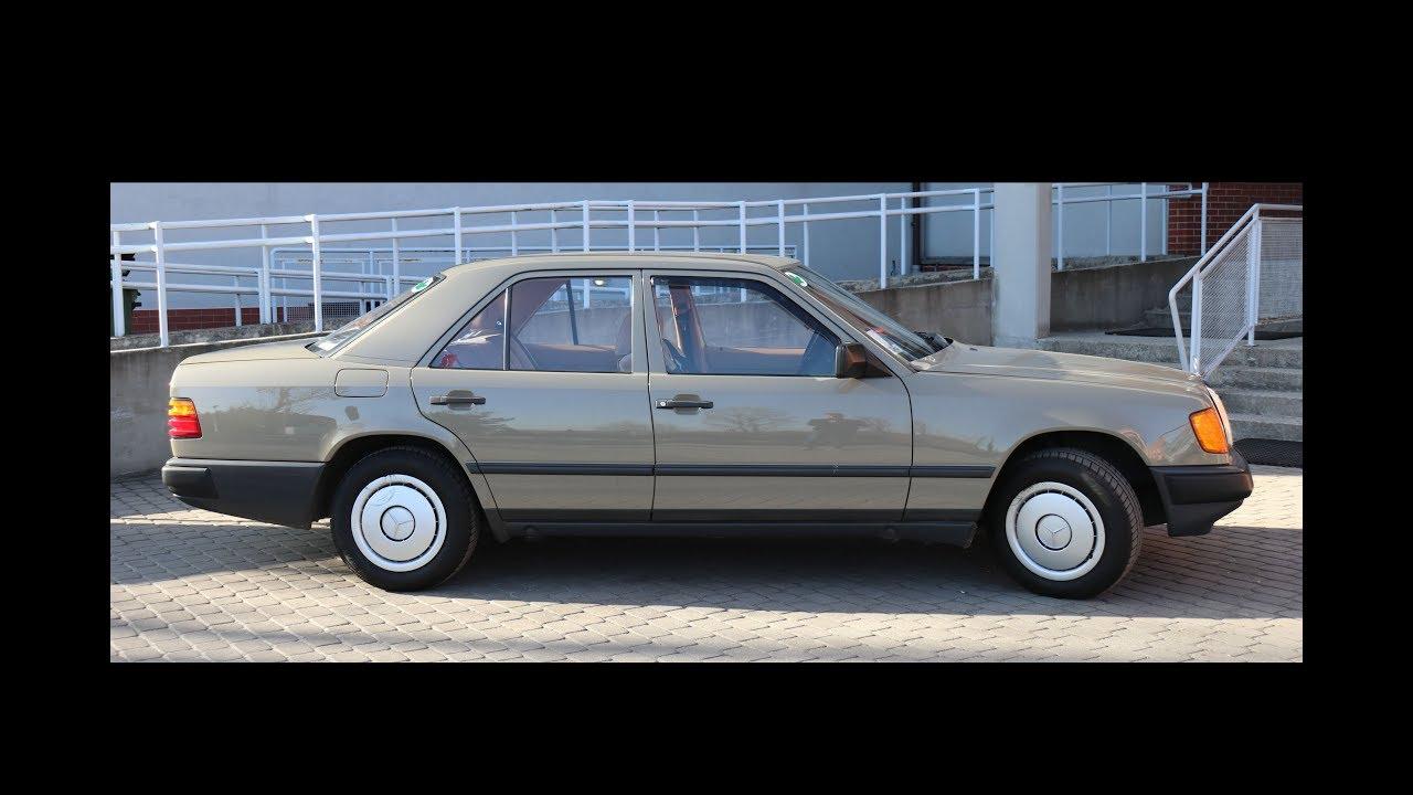 Inwestycja niedużego kapitału w motoryzację klasyczną. Mercedes W124