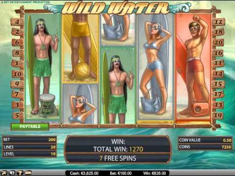 Игровой автомат Wild water free spins