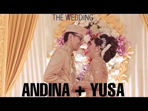 ANDINA + YUSA • Short Wedding Video (Jember, East Java, Indonesia )