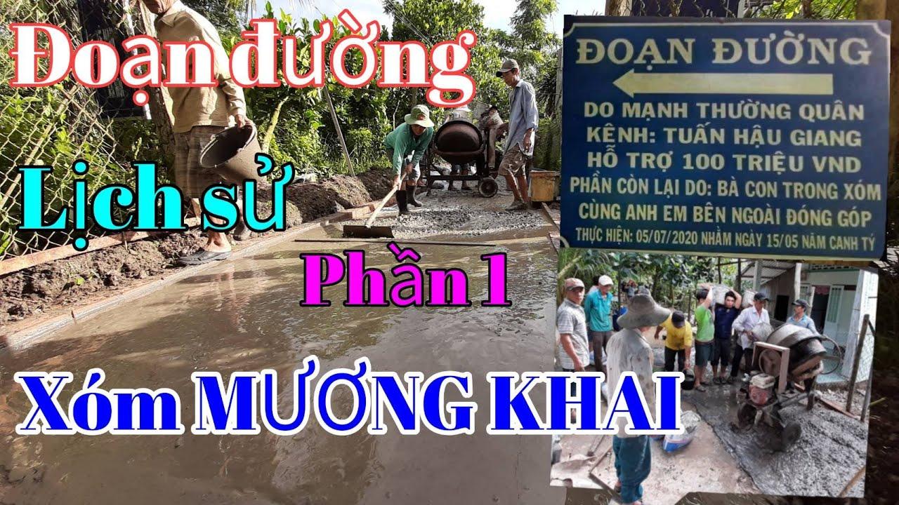 (P.1)Làm Đoạn Đường Từ Thiện Ấp Long Lợi A Xã Đông Phước A Huyện Châu Thành Tỉnh Hậu Giang.THG
