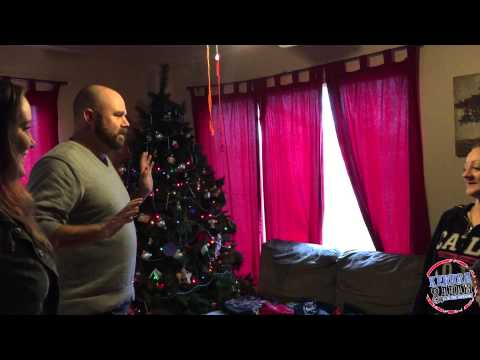 Kendra & Adam Breaking and Entering Christmas House #1