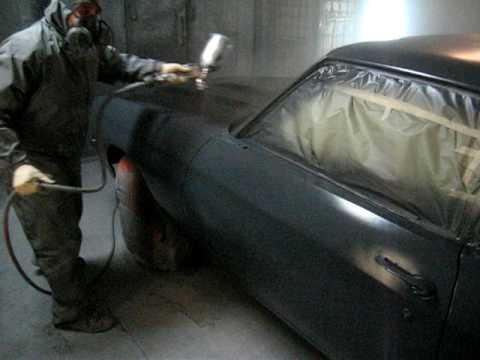 Epoxy primer to paint on 1971 Chevelle SS
