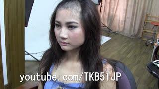 TKB51 剃髪ビデオ #137  メイキング☆ Shave head