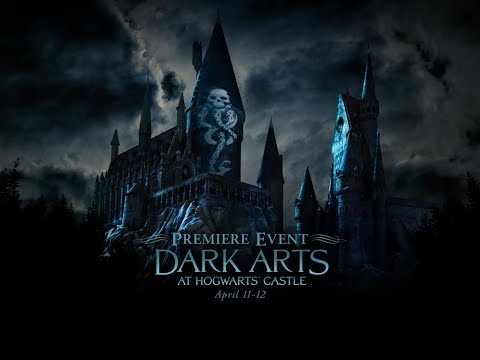 Creepy Quest: Dark Arts at Hogwarts Premiere Event