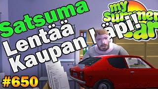 My Summer Car 650  Satsuma Lentää Kaupan Läpi?