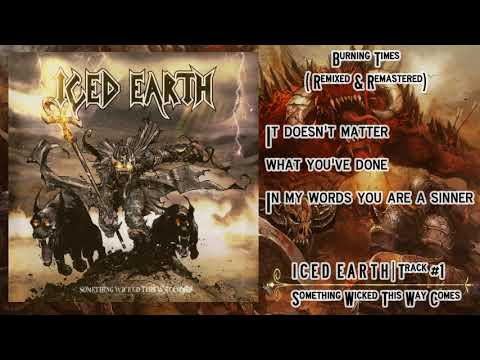 ICED EARTH || 01 || Burning Times Remixed & Remastered || Letra - lyrics mp3